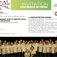 Invitation - conf de presse Vocal